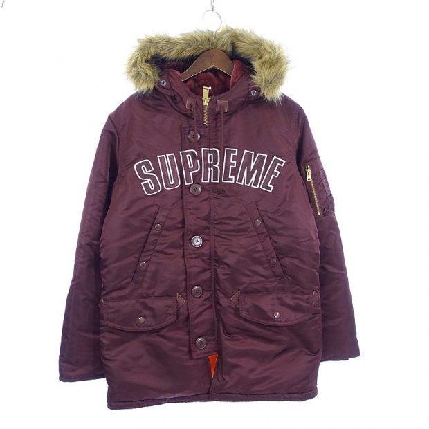 シュプリーム/SUPREME 16AW Arc Logo N-3B Park ミリタリー パーカー コート参考買取価格15000~25000円前後