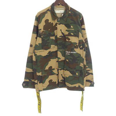 オフホワイト/OFF WHITE 18AW Camouflage Field Jacket フィールドジャケット