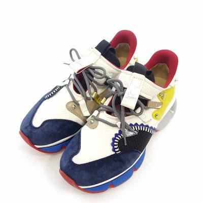 クリスチャンルブタン/CHRISTIAN LOUBOUTIN Red Runner VERSION MULTI レッド ランナー スニーカー参考買取価格35000~45000円前後