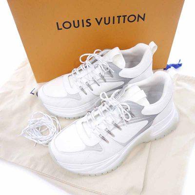 ルイヴィトン/LOUIS VUITTON LV ランアウェイパルス・ライン スニーカー  買取参考金額 40000~60000円前後