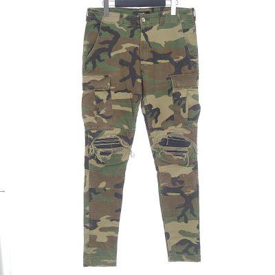 アミリ/AMIRI MX-1 Stack Cargo Pants カーゴ 迷彩 パンツ  買取参考金額 20000~30000円前後