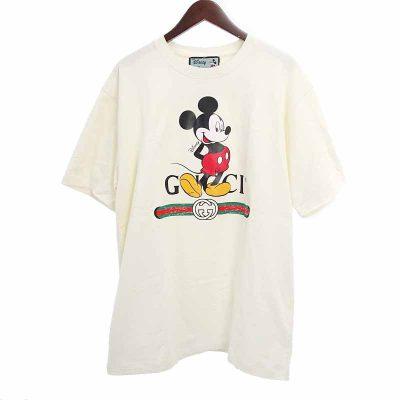 グッチ/GUCCI 20SS DISNEY ディズニー ミッキーマウス ヴィンテージロゴ Tシャツ 買取参考金額20000~30000円前後