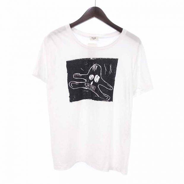 セリーヌ/CELINE 20ss WANDERER スカル プリント Tシャツ参考買取価格10000~15000円前後