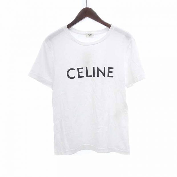 セリーヌ/CELINE 20SS Logo S/S Tee セリーヌ クラシックロゴTシャツ 買取参考金額15000~18000円前後