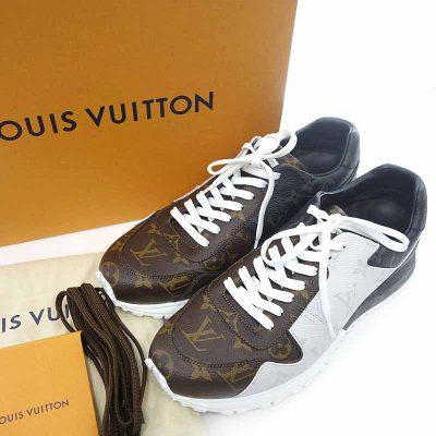 ルイヴィトン/LOUIS VUITTON BM0129 モノグラム ランアウェイ ライン スニーカー参考買取価格25000~30000円前後