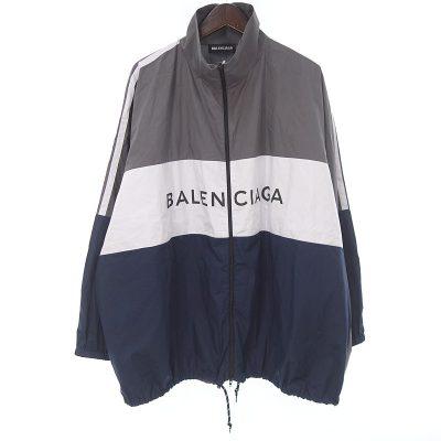 バレンシアガ/BALENCIAGA 18SS TRACKSUIT POPLIN SHIRT JACKET ジャケット参考買取価格30000~35000円前後