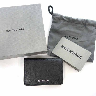 バレンシアガ/BALENCIAGA VILLE ヴィル ミニ ウォレット参考買取価格10000~15000円前後