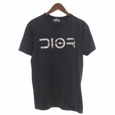 ディオール/DIOR 19AW 933J640A0533 SORAYAMA 空山 ロゴ Tシャツ