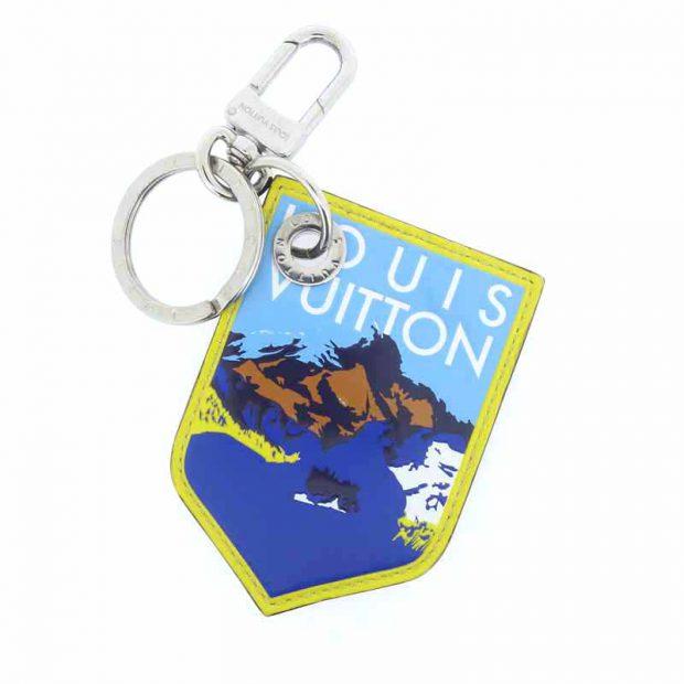 ルイヴィトン/LOUIS VUITTON ポルト クレ LV アルプス チャーム キーホルダー 買取参考金額10000~25000円前後