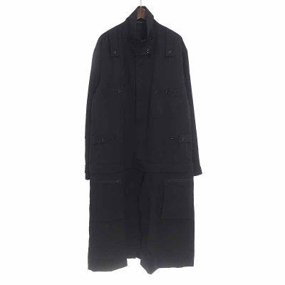 ヨウジヤマモト/YOHJI YAMAMOTO 17AW ウールギャバジンツナギファスナードレス ジャケット参考買取価格30000~40000円前後