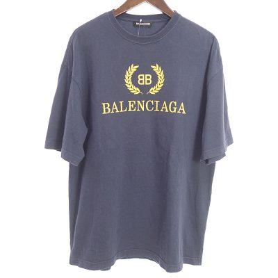 バレンシアガ/BALENCIAGA 18AW BBロゴ Tシャツ 買取参考金額 10000~20000円前後