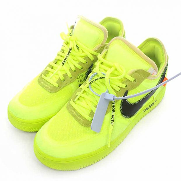 オフホワイト/OFF WHITE AO4606-700 Nike Air Force 1 Low スニーカー参考買取価格30000~40000円前後