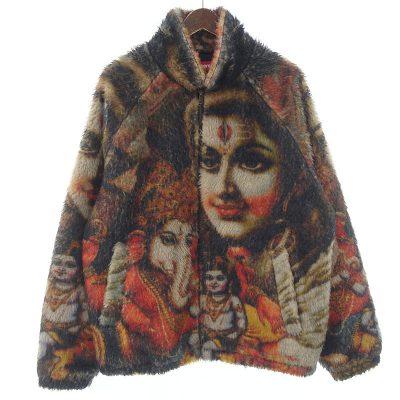 シュプリーム/SUPREME 19AW Ganesh Faux Fur Jacket ファージャケット参考買取価格15000~25000円前後
