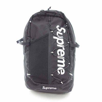 シュプリーム/SUPREME 17SS Backpack バックパック ナイロン ロゴプリント 鞄 リュック 買取参考金額 10000~15000円前後