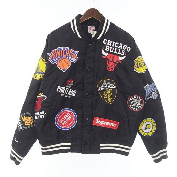 シュプリーム/SUPREME NIKE 18SS NBA Teams Warm-Up Jacket ジャケット参考買取価格20000~30000円前後