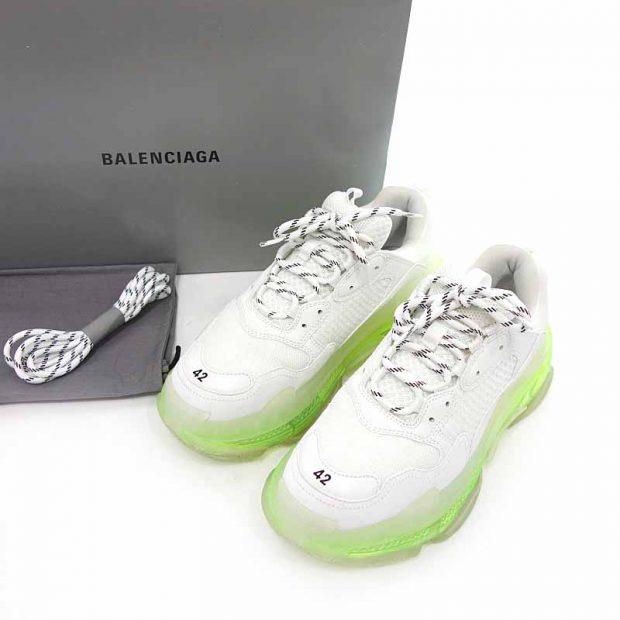 バレンシアガ/BALENCIAGA TRIPLE S CLEAR SOLE トリプルS クリアソール スニーカー 買取参考金額 25000~35000円前後
