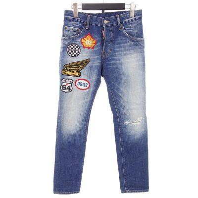 ディースクエアード2/DSQUARED2 20SS Medium Rammendo Skater Jeans デニムパンツ参考買取価格15000円~25000円前後