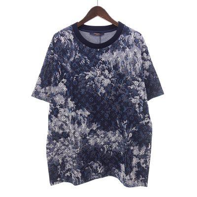 ルイヴィトン/LOUIS VUITTON 21SS タペストリー モノグラム Tシャツ 買取参考金額30000~35000円前後
