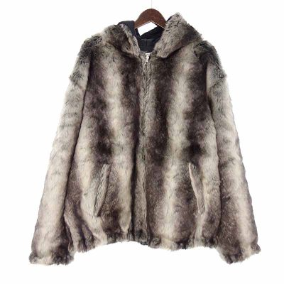 シュプリーム/SUPREME 20AW Faux Fur Reversible Hooded Jacket参考買取価格20000~30000円前後