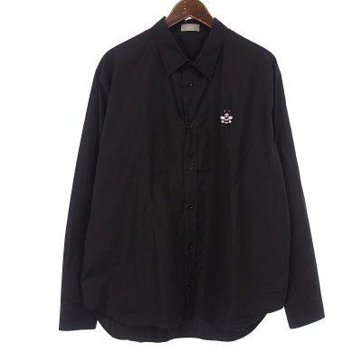 ディオール/DIOR 19SS × KAWS BEE 刺繍 コットン 長袖 シャツ