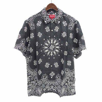 シュプリーム/SUPREME 21SS Bandana Silk S/S Shirt シャツ 買取参考金額 12,000~15,000円前後