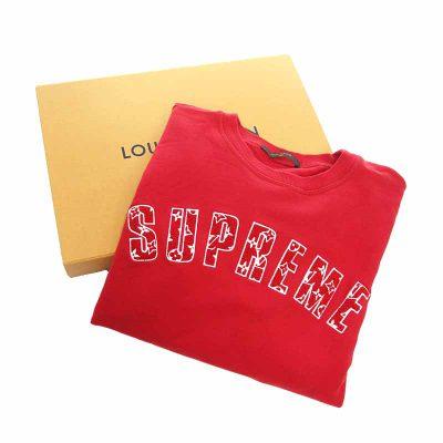 シュプリーム/SUPREME LOUIS VUITTON Arc Logo クルーネック スウェット 買取参考金額 80,000~90,000円前後