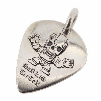 クロムハーツ/CHROME HEARTS FOTI GUITAR PICK フォティ ギター ピック ネックレス参考買取価格8000~13000円前後