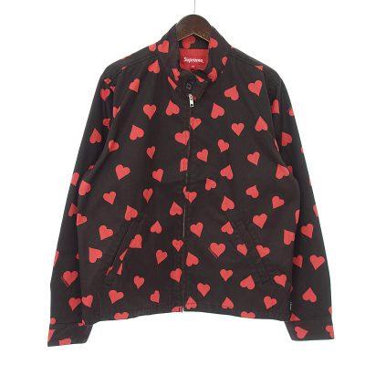 シュプリーム/SUPREME 17ss Hearts Harrington Jacket ハート ジャケット参考買取価格10000~20000円前後