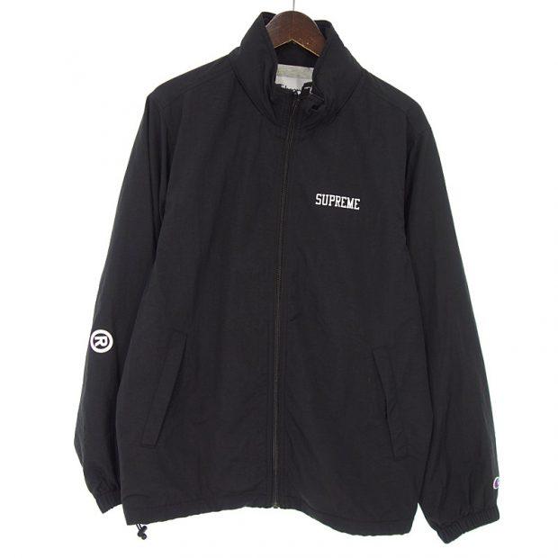 シュプリーム/SUPREME 18ss champion track jacket ロゴ トラック ジャケット参考買取価格8000~12000円前後