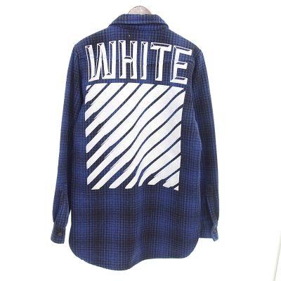 オフホワイト/OFF WHITE 15AW ウール タータンチェック シャツ 買取参考金額 10,000~13,000円前後