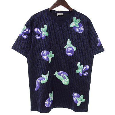 ディオール/DIOR 21ss KENNY SCHARF ケニー シャーフ テクニカル ジャカード Tシャツ 買取参考金額 30,000~40,000円前後