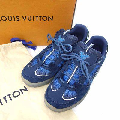 ルイヴィトン/LOUIS VUITTON 21SS ルシアン・クラーク アビュー ライン スニーカー 買取参考金額 60,000~70,000円前後
