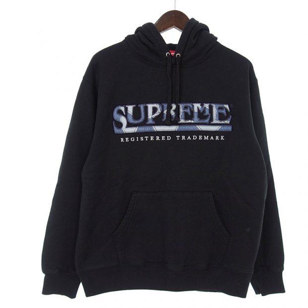 シュプリーム/SUPREME 21SS Denim Logo Hooded Sweatshirt パーカー 買取参考金額 8000円~13000円前後