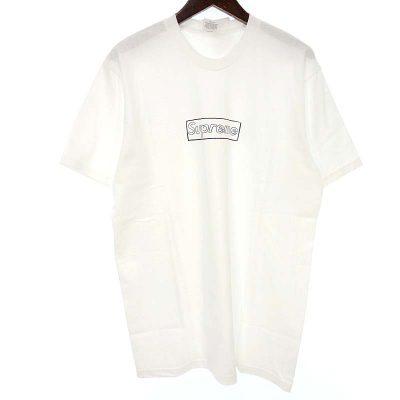 シュプリーム/SUPREME 21SS Kaws Chalk Logo tee カウズ Tシャツ 買取参考金額 5,000円~7,000円前後
