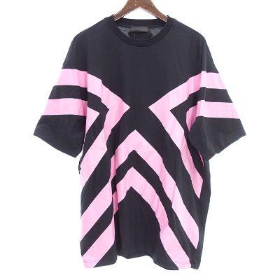 プラダ/PRADA オーバーサイズ プリントコットン Tシャツ 買取参考金額 10,000円~15,000円前後