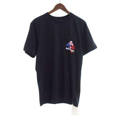 クロムハーツ/CHROME HEARTS MLTCOL CEM CRS T-SHRT マルチセメタリー クロス Tシャツ 買取参考金額は20000円~30000円前後