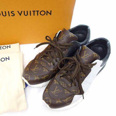 ルイヴィトン/LOUIS VUITTON ラン アウェイ ライン モノグラム ローカット スニーカー 買取参考金額 20,000円~30,000円前後