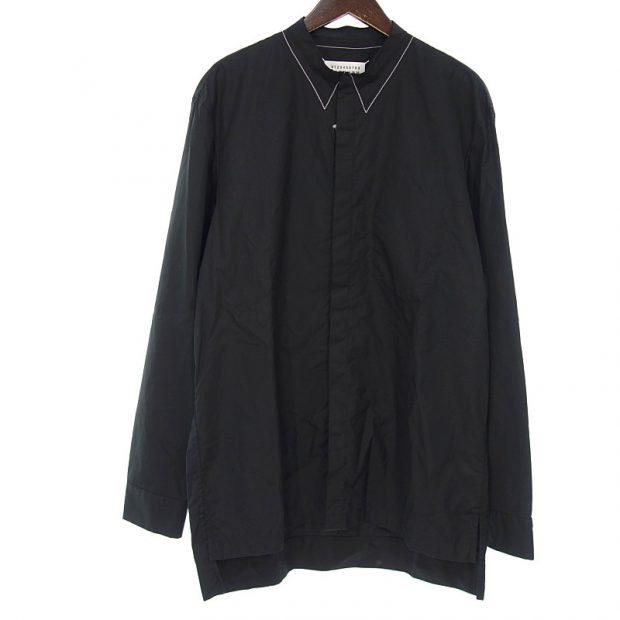 メゾンマルジェラ/MAISON MARGIELA 20SS カラーレス ステッチ デティール シャツ 買取参考金額 15,000円~18,000円