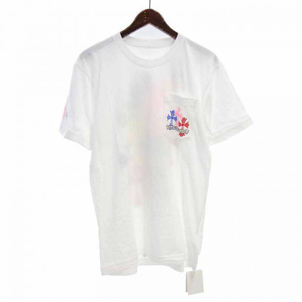 クロムハーツ/CHROME HEARTS MLTCOL CEM CRS マルチカラー セメタリー クロス Tシャツ 買取参考金額 20,000円~25,000円